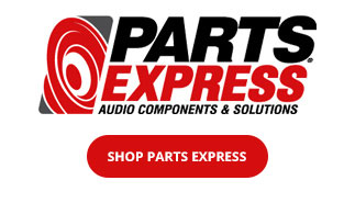 Shop Parts Express for all your speaker project needs!