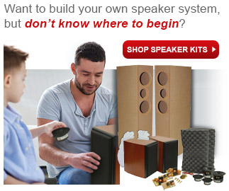 Shop Parts Express for Speaker Kits