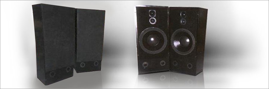 """Angel Fire 1"" Series II-Morel 3-Way Loudspeakers"