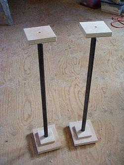 Rick S Simple Speaker Stands Parts Express Project Gallery
