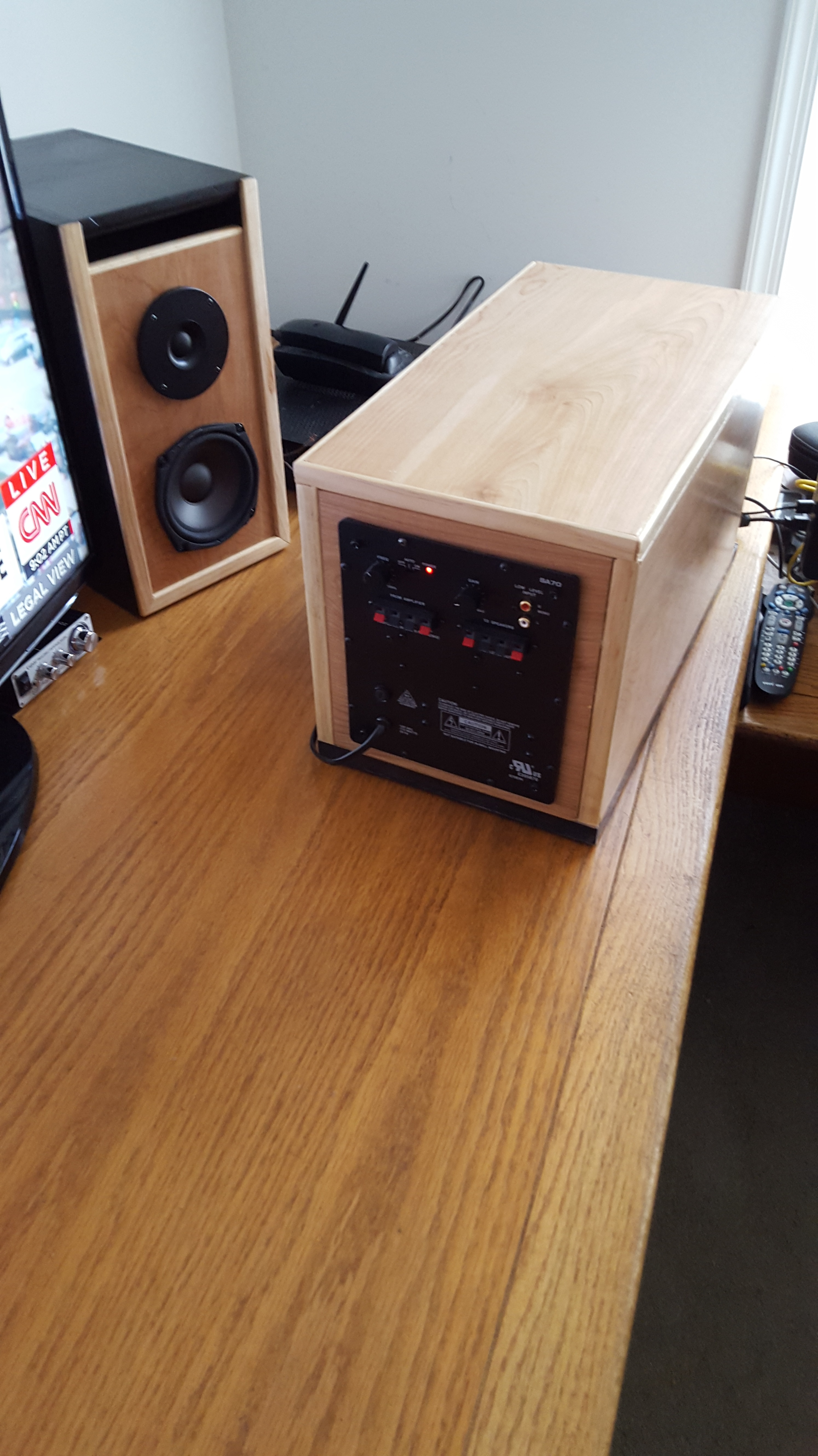 High Quality Sounding 2 1 Desktop Stereo Parts Express