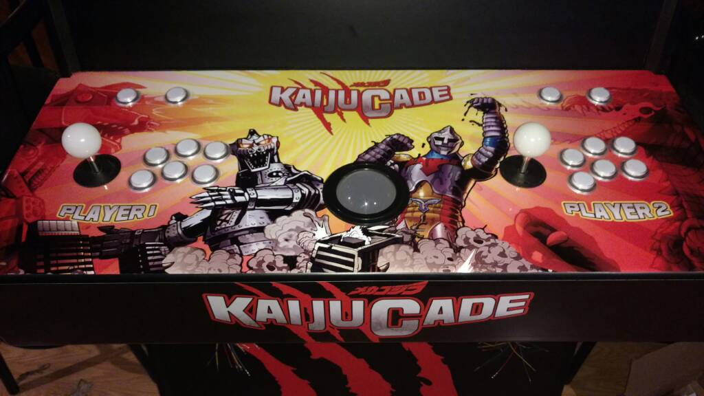 KaijuCade – Home Arcade Machine | Parts Express Project ...