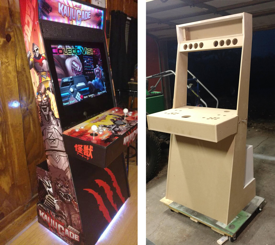 Mame Cabinet Parts