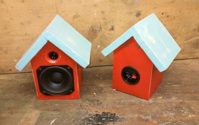 Zivojinovich Birdhouse Speakers