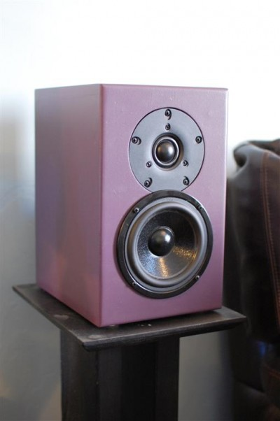 Mini J Two-Way Bookshelf Speakers