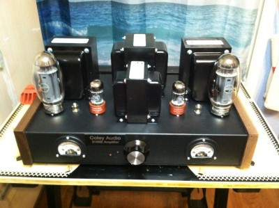 A Stereo Singled-End Amplifier Using the KT-150