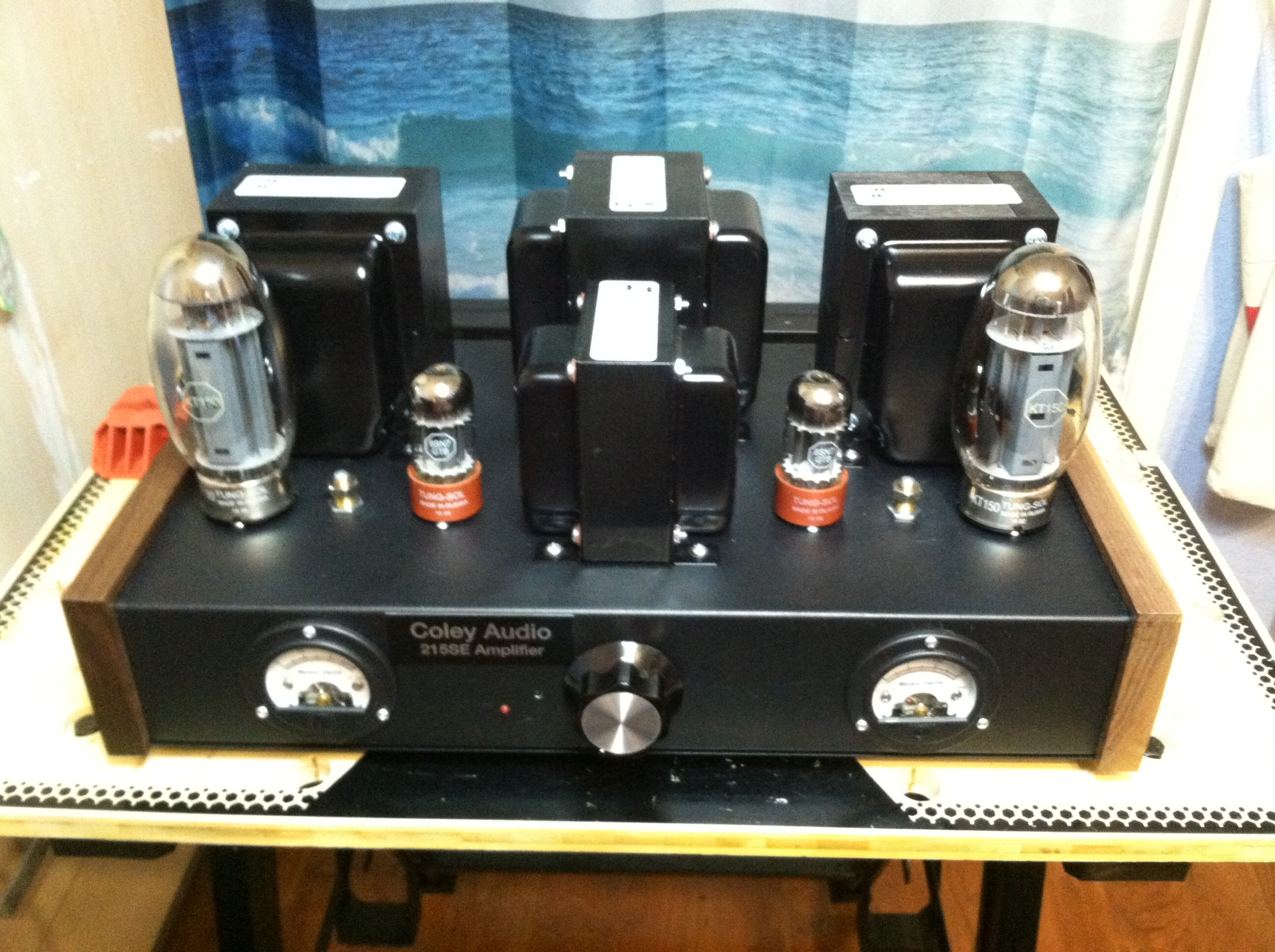 A Stereo Singled End Amplifier Using The Kt 150 Parts Express Hammond Transformer Wiring Diagram Designer Craig J Coley