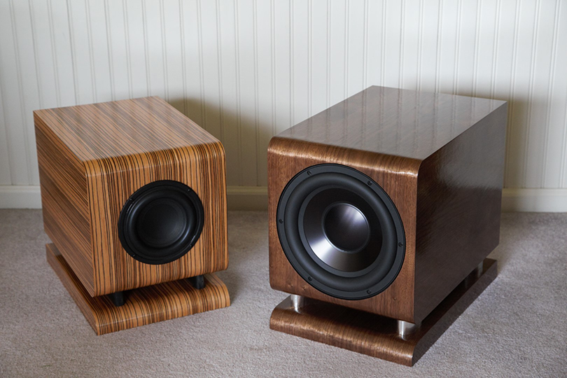The Tenacious Bass 6 and 8 Subwoofers