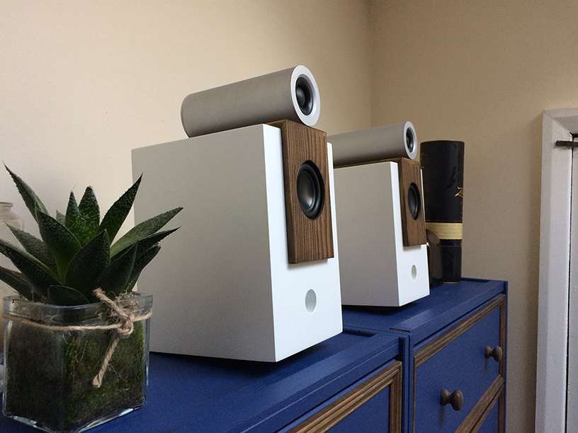 First Build – Bluetooth Bookshelf Speakers