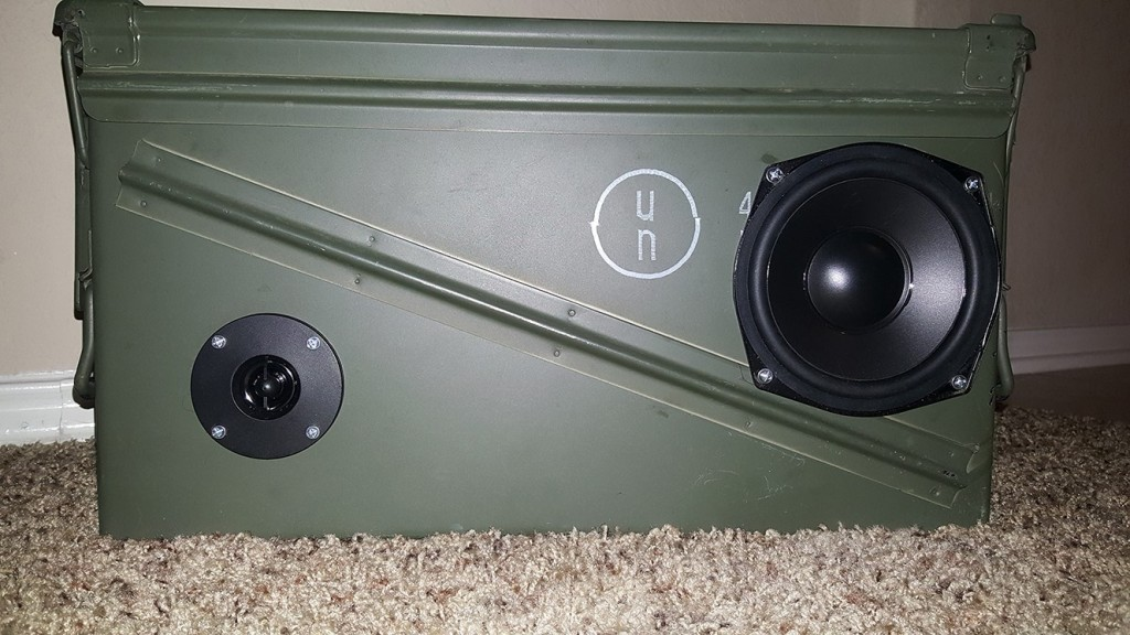 Bluetooth Ammo Can Speaker