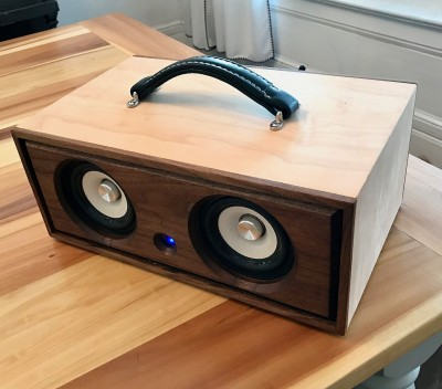 Walnut/Maple Bluetooth