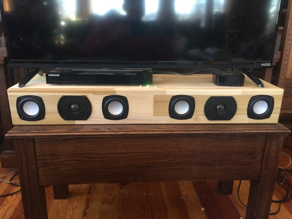 My First Project. McGregor Soundbar V1