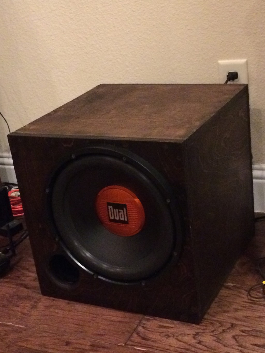 12 inch subwoofer tuned @ 30hz