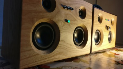 Retro Wood Portable Speakers