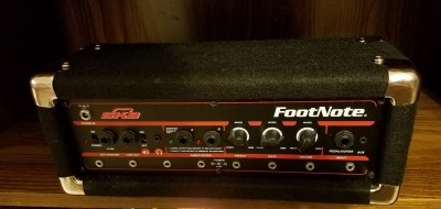 Footnote Amp Cabinet
