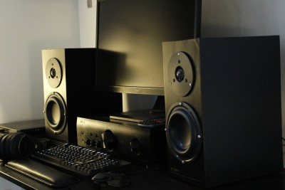 Dark Thunder Bookshelf Speakers