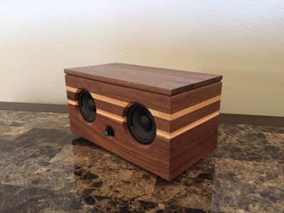 Walnut Bluetooth Speaker