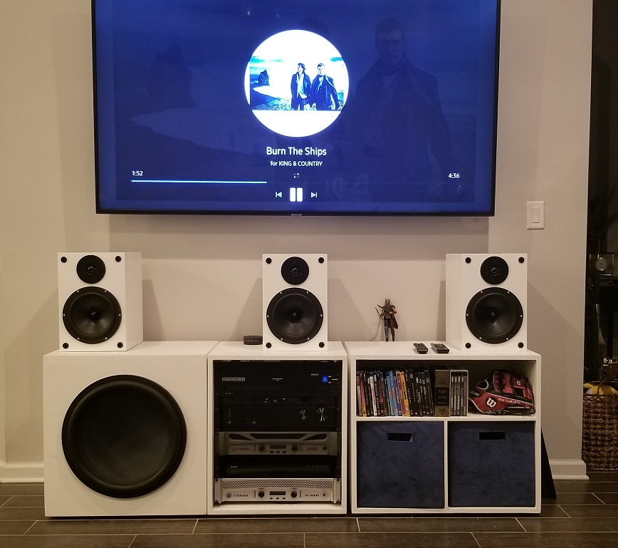 """LCR Front 3 Bookshelf Project 8"""" Dayton Reference Paper Woofer"""
