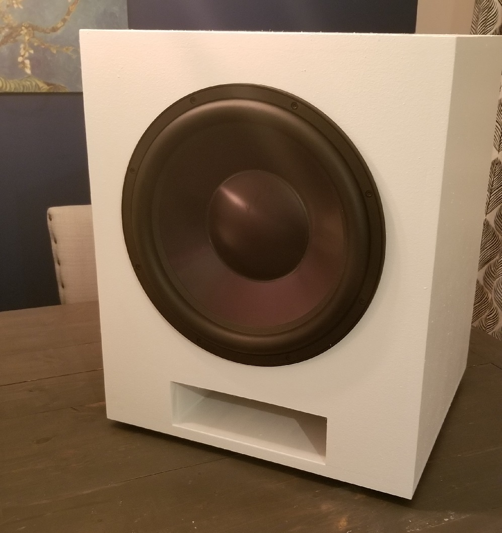 Slot Vented 15″ Subwoofer