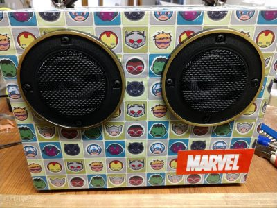 Marvel Battery Powered Bluetooth speaker