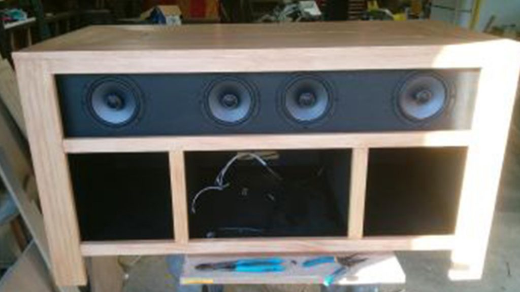 All in one entertainment stand