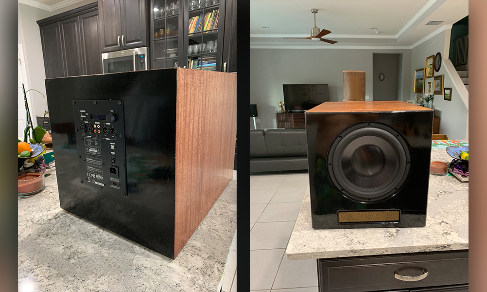 Powered Sub-First Build