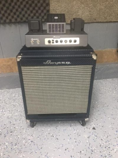 Reproduction Ampeg Portaflex with Modern Electronics
