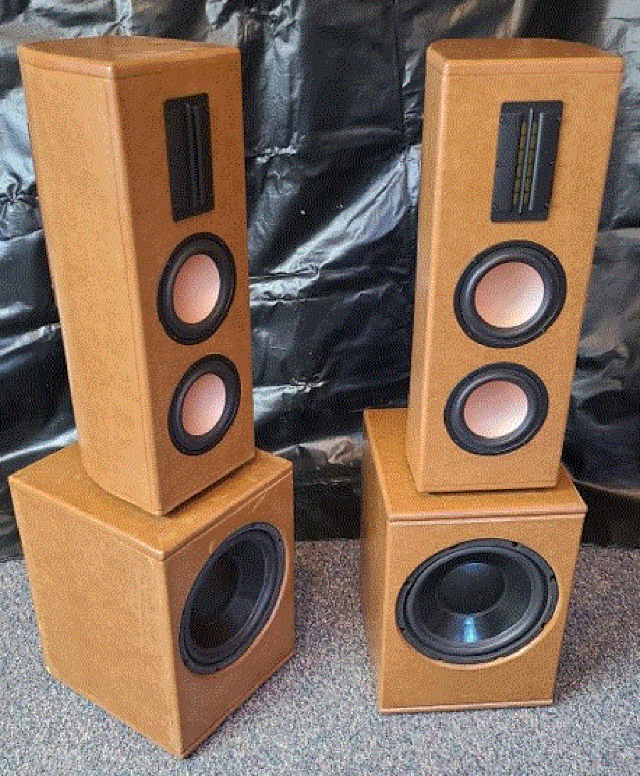 DIY Stereo Towers